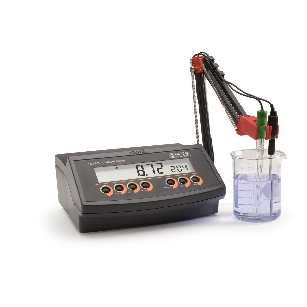 HI2210-02 - Masaüstü pH Ölçer 0.01 Çözünürlüklü