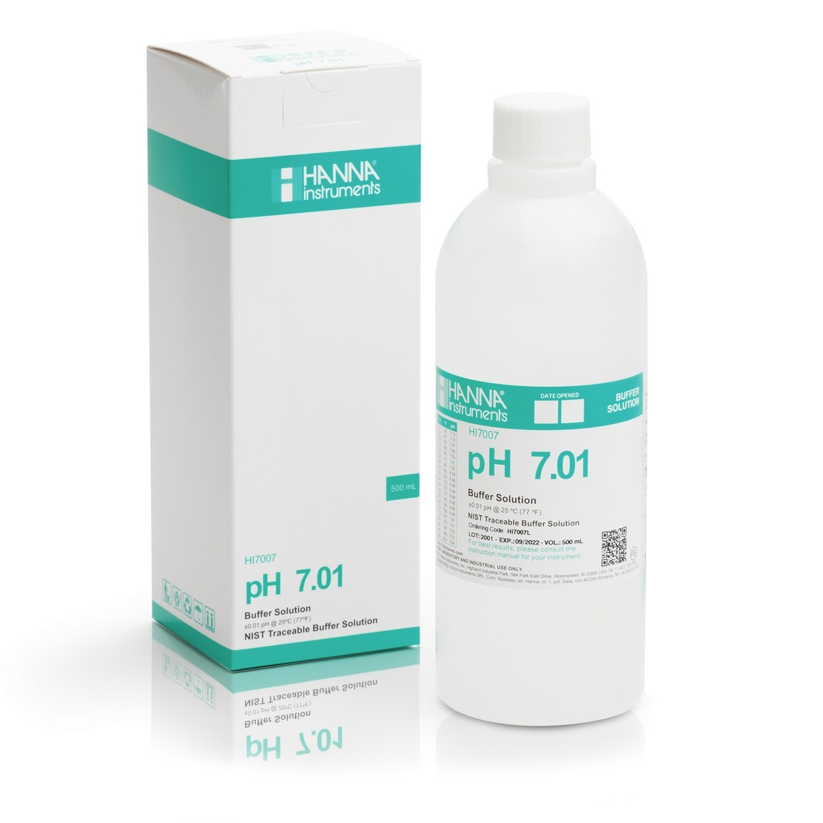 HI7007L - pH 7.01 Calibration Buffer Solution (500 mL)