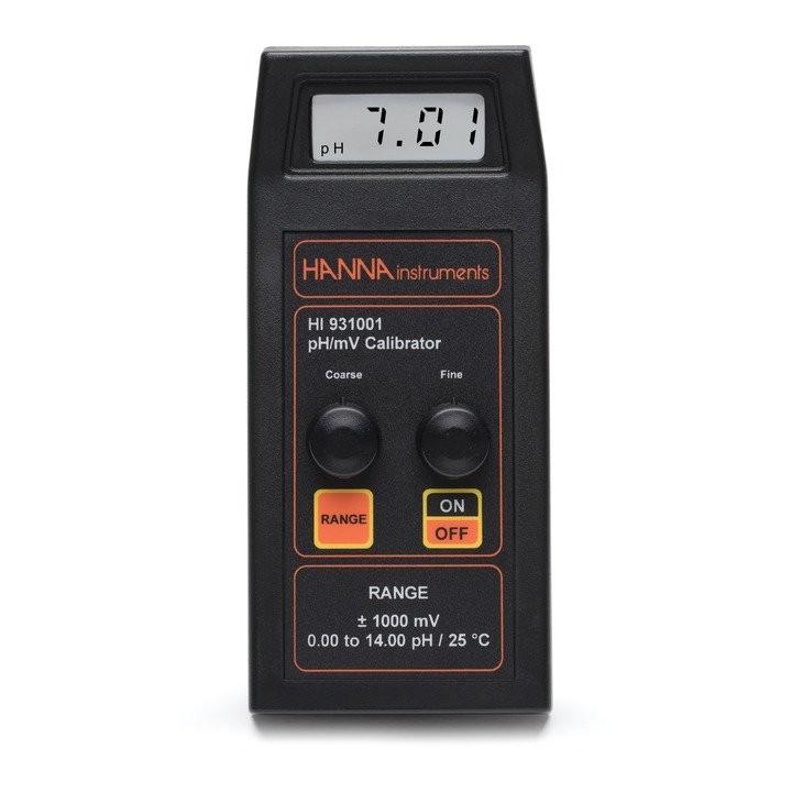 HI931001 - Portatif pH / mV Simülatörü (ekranlı)