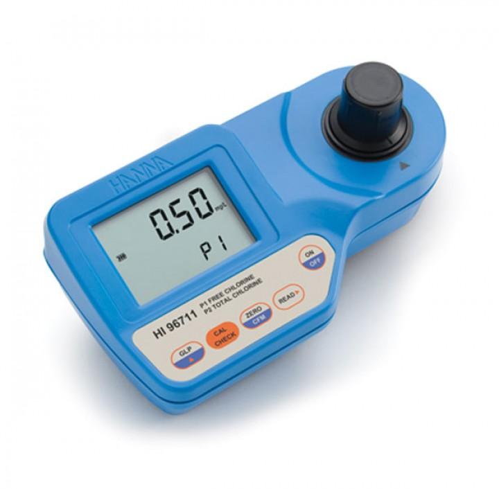 HI96711 - Serbest ve Toplam Klor Taşınabilir Fotometre
