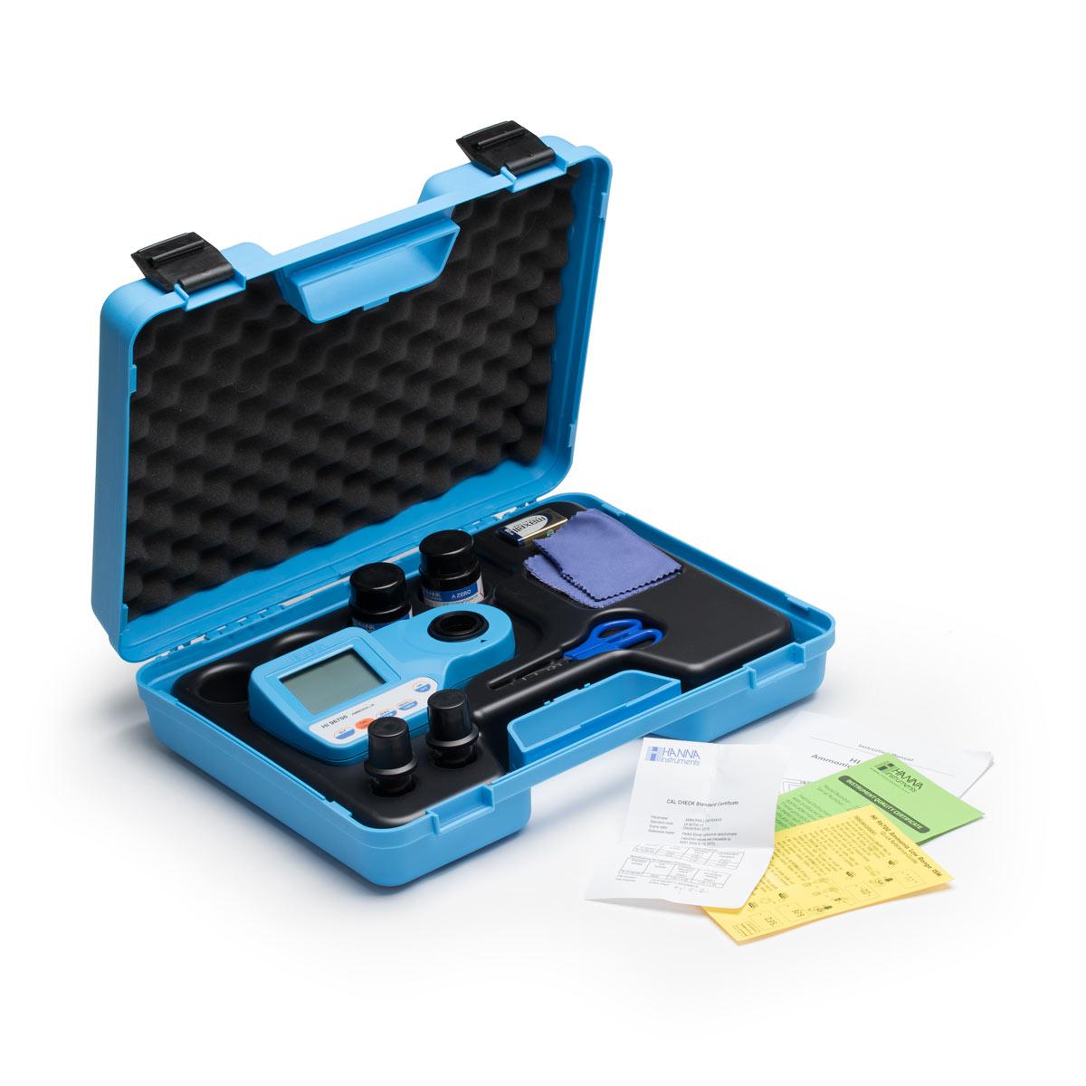 HI96725 - Klor, Siyanürik Asit ve pH Taşınabilir Fotometre