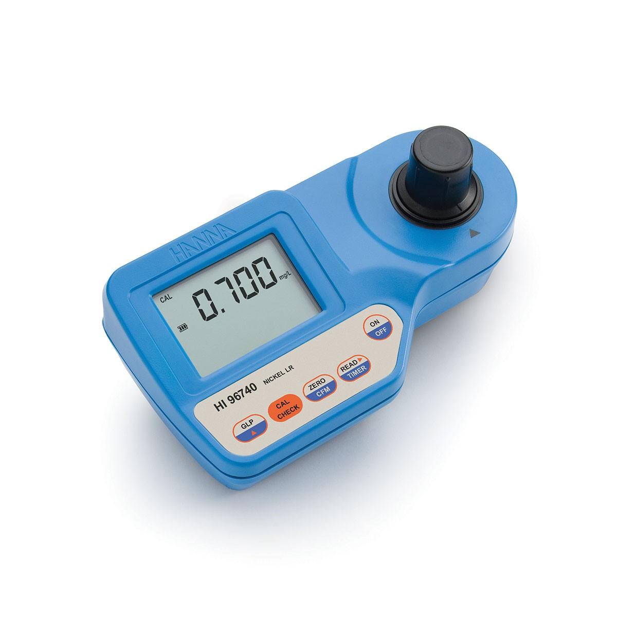 HI96740 - Nikel Düşük Aralıklı Taşınabilir Fotometre
