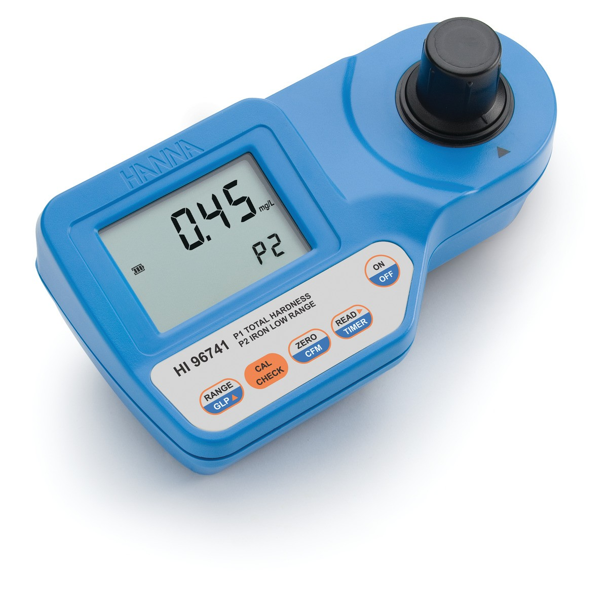 HI96741 - Toplam Sertlik ve Düşük Aralıklı Demir Taşınabilir Fotometre