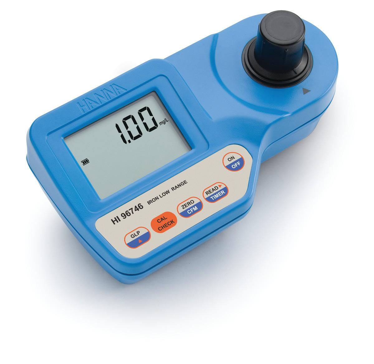 HI96746 - Demir Düşük Aralıklı Taşınabilir Fotometre