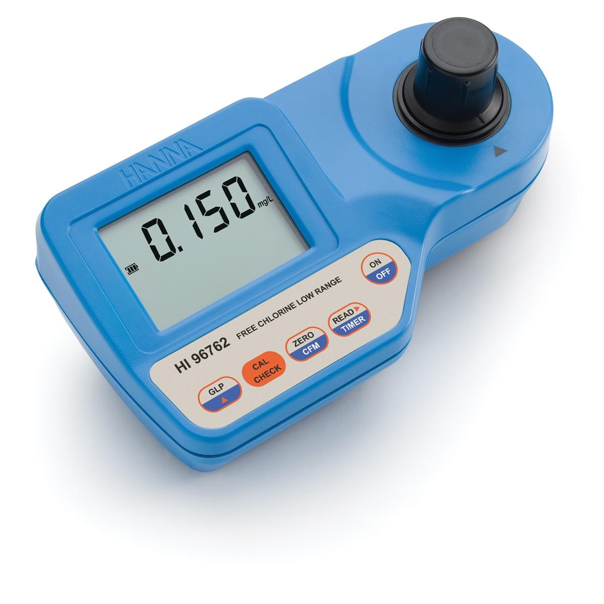 HI96762 - Serbest Klor Ultra Düşük Aralıklı Taşınabilir Fotometre