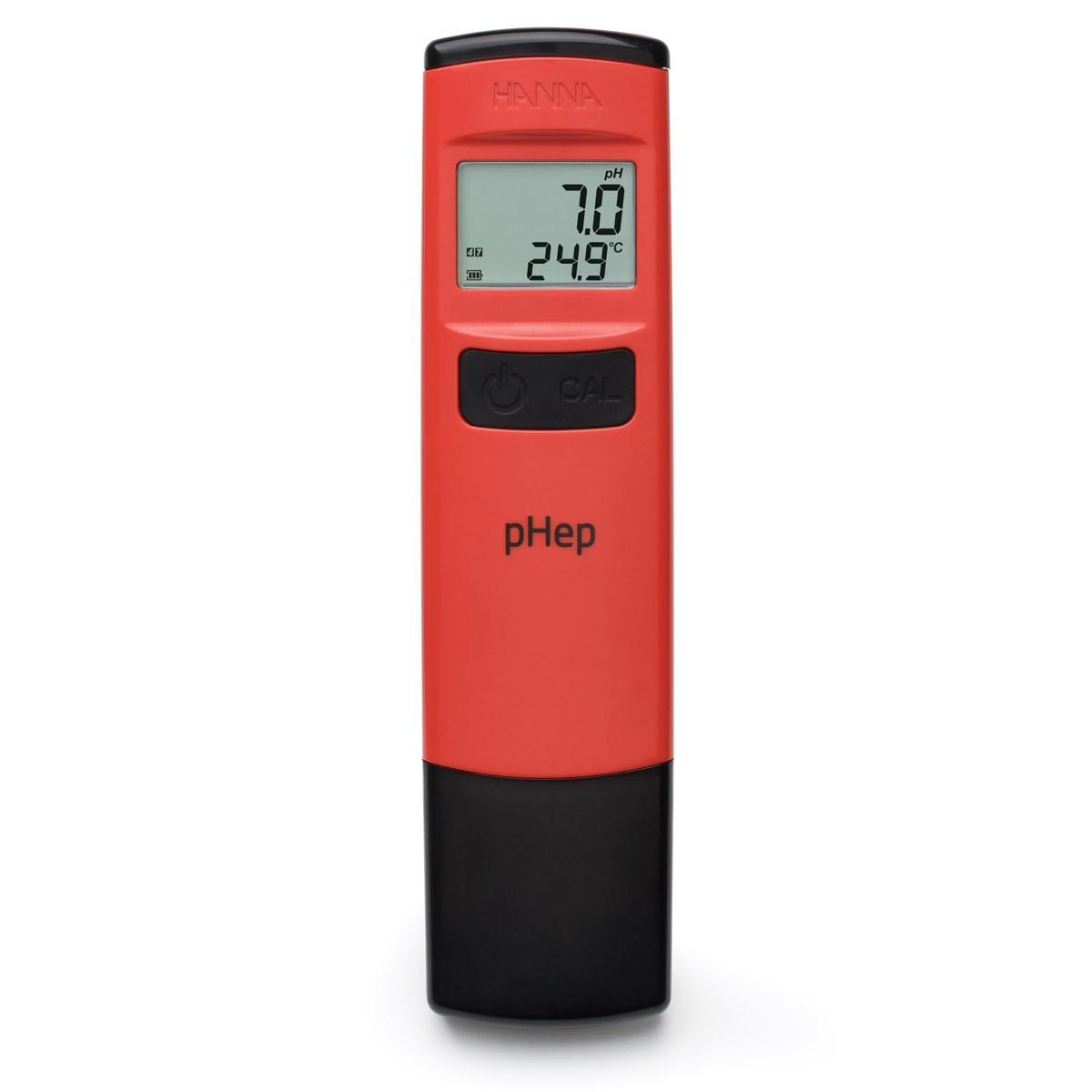 HI98107 - 0.1 Çözünürlüklü Suya Dayanıklı Cep pH Test Cihazı - pHep®
