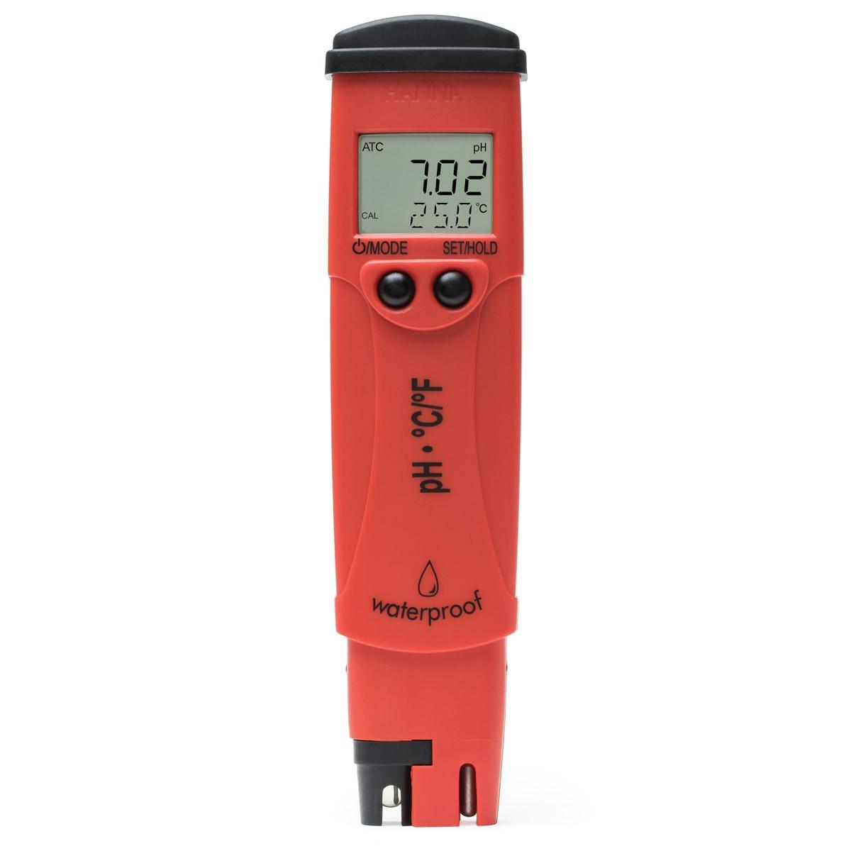 HI98128 - 0.01 pH Çözünürlüklü pH / Sıcaklık Test Cihazı - pHep®5