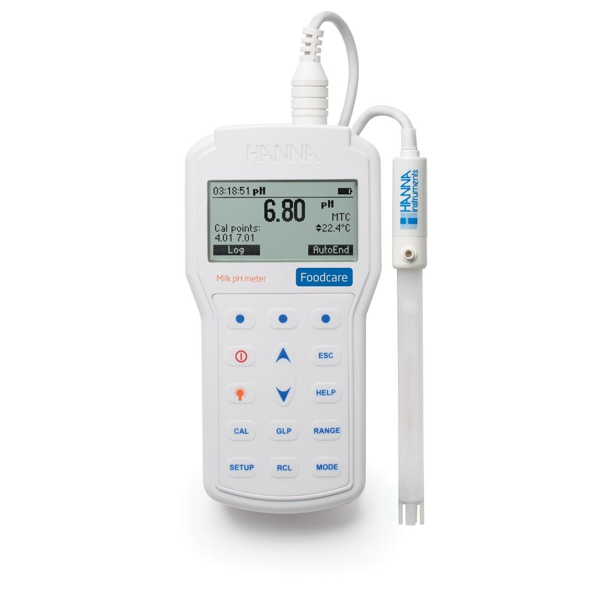 HI98162 - Profesyonel Taşınabilir Süt pH Ölçer