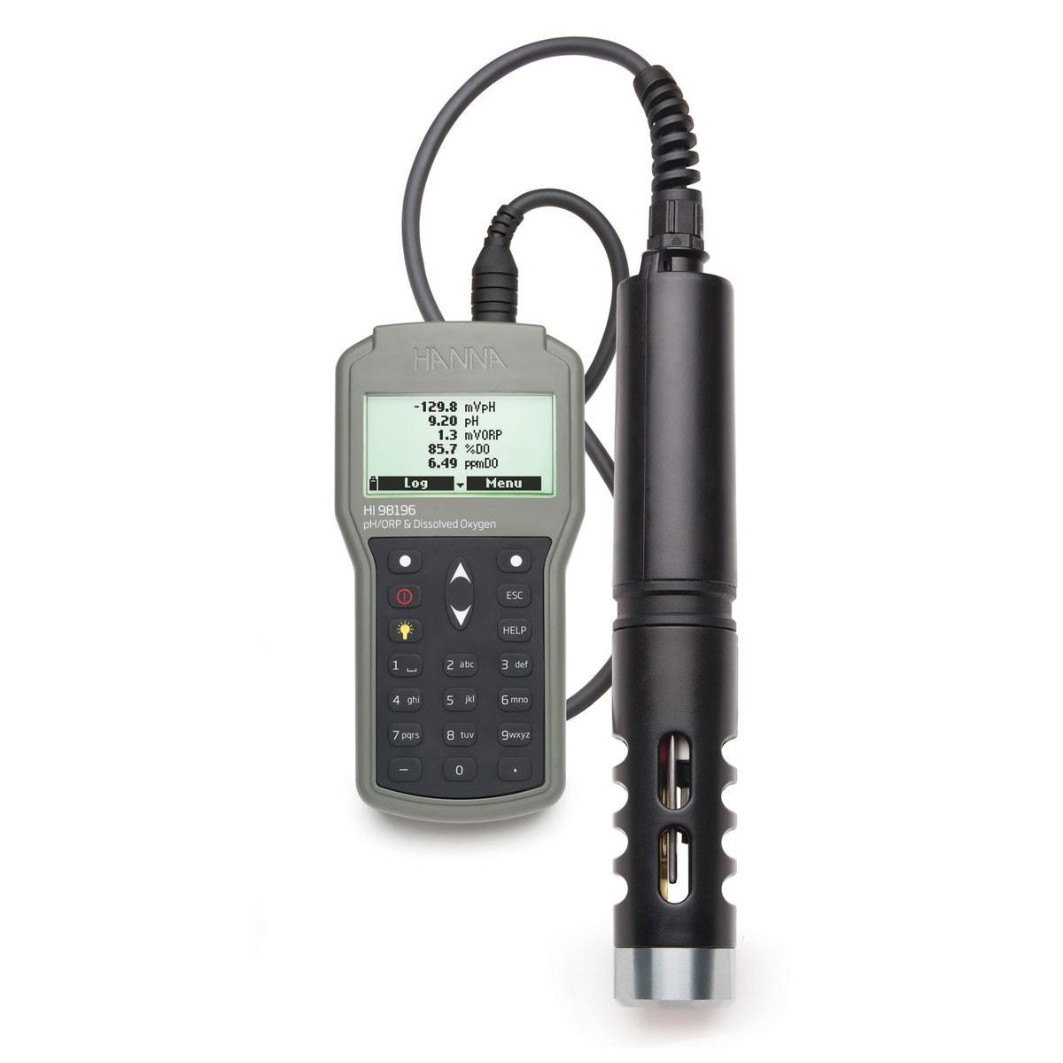 HI98196 - Multiparametre pH / ORP / DO / Basınç / Sıcaklık Suya Dayanıklı Metre