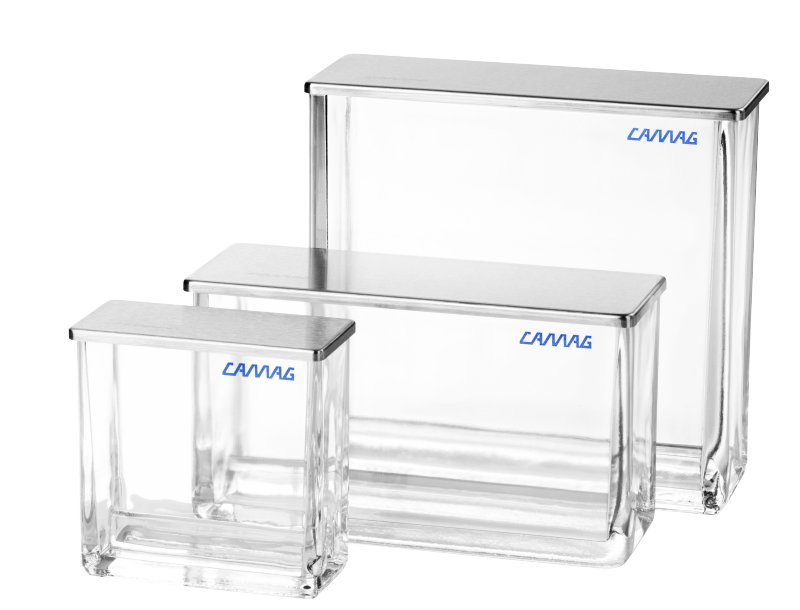 Twin Trough Chamber for  plates 10x10 - Çift Oluklu Tank 10 x10 plakalar için